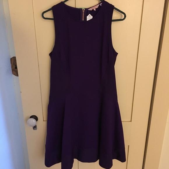 2c5984d17cbac Ted Baker London Purple Dress- Ted 4. M 5b538bf95fef37becbf07718